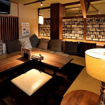 和牛炙り寿司が旨い個室居酒屋 肉笑門~NIKUEMON~今池店 店内の画像