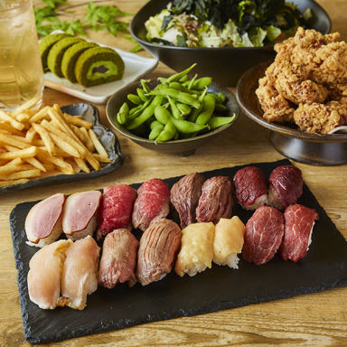 和牛炙り寿司が旨い個室居酒屋 肉笑門~NIKUEMON~今池店 コースの画像