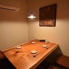 接待やデートにオススメな個室