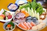 丸万海鮮鍋コース