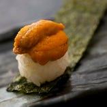 生うに寿司