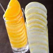 お行儀よくレモン整列!追いサワーOK