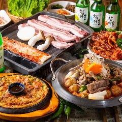 韩国家庭料理 土の村