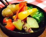 フォンデュに付けるお野菜盛り合わせ