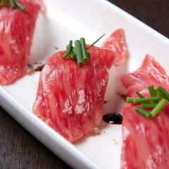 撰 肉寿司 炙りトロにぎり 2貫