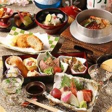 各種ご宴会にご利用いただけるコースは、5,000円~ご用意