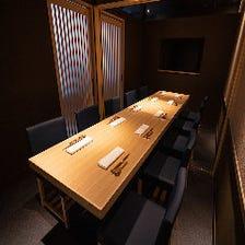 ご宴会・ご接待に最適の個室空間