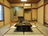 全室が個室です。   2~30名まで対応いたします。
