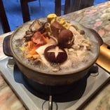 飲み放題付き 色々な木の子と白菜の生姜鍋コース 5,000円