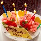 数々の賞を受賞したパティシエが作るケーキ・デザートも大好評。
