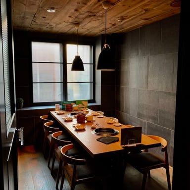 完全個室×厳選黒毛和牛専門店 焼肉 福 店内の画像