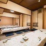 お座敷席完全個室(~10名様×3部屋)