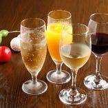 追加料金を気にせずにお酒も楽しみたい時は『飲み放題』がおすすめ!