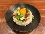 [ポキ丼] 漬けまぐろとアボカドで作る島人(しまんちゅ)ご飯