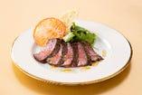 千葉県産和牛ステーキ 千葉野菜のサラダ 1皿サービス