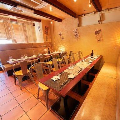A4和牛寿司 肉バル BISON-バイソン-八王子店 店内の画像