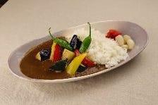 【季節の味!】季節野菜の絶品カレーライス 1,300円 旅行/女子会/デート/ママ会