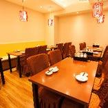 大人数での宴会に対応できる完全個室。
