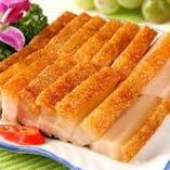 豚バラ肉のこんがり焼き