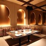 【ラグジュアリー完全個室】ヴィラ調のエグゼクティブな空間