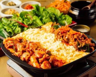 韓国料理 デーハミング 新大久保 コースの画像
