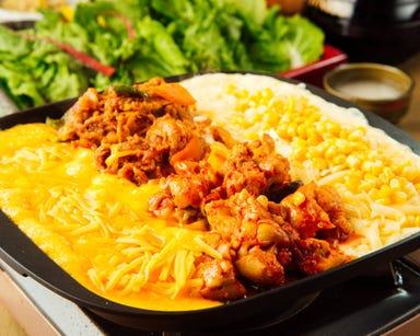 韓国料理 デーハミング 新大久保 メニューの画像