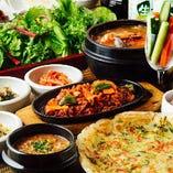韓国料理でご宴会♪女子会・ママ会にもおすすめです!