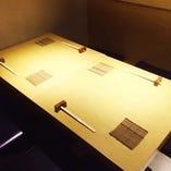 ★ゆったりテーブル席★(4~8名様)~接待やご家族でのご利用に最適です!~