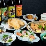 【2時間飲み放題付】鹿児島郷土料理コース