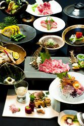郷土料理会席コース       ¥5000~10000