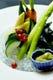 旬野菜の木の芽味噌添え★自家菜園の取れたて野菜をどうぞ