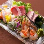 新鮮な魚介をお楽しみください