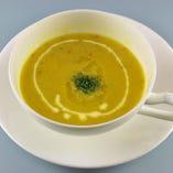 『ダールスープ』ベジタリアンでもOKなメニューもございます!
