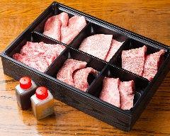 【梅】焼肉六点種盛り合わせ