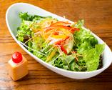 HANAREのサラダ