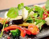 彩りお野菜の焼きバーニャカウダ