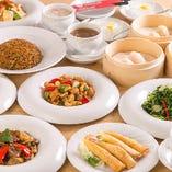 最大106品の多彩な本格中華を満喫できるオーダー式の食べ放題