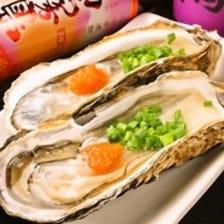 産地直送殻つき牡蠣♪