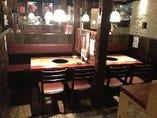 テーブル・カウンターもあります。