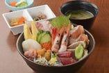 上・海鮮丼