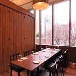 虎ノ門方面を眺める最高のロケーション。最大32名様の完全個室。