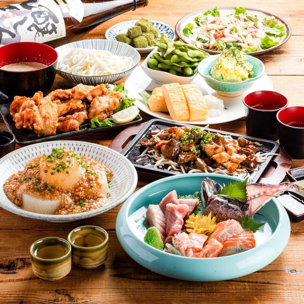 希少な地鶏を存分にご堪能いただける宴会コース3500円~ご用意◎