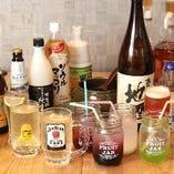 【飲み放題】 約70種と種類豊富な飲み放題もご用意しております