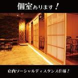 1F居酒屋スペース (2名様~29名様)