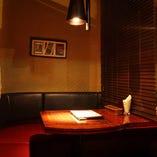 ◆半個室のL字ソファ席◆コース予約&席のみ予約OKです