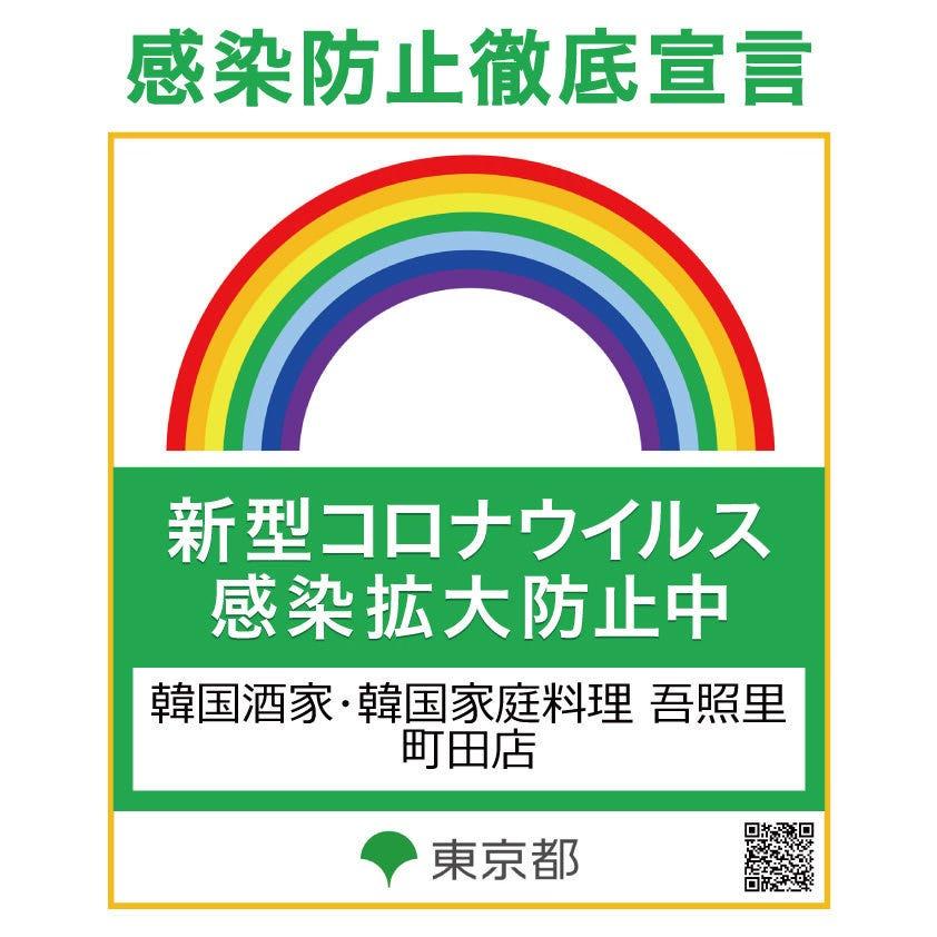 【安心安全の忘新年会】感染防止対策