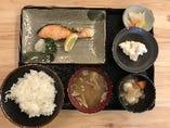 【ランチ】銀シャケ定食