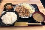 【ランチ】こだわりの生姜焼定食