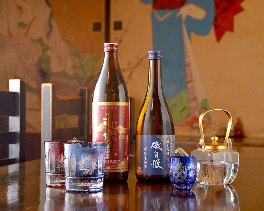 季節限定の日本酒や希少な銘酒を堪能