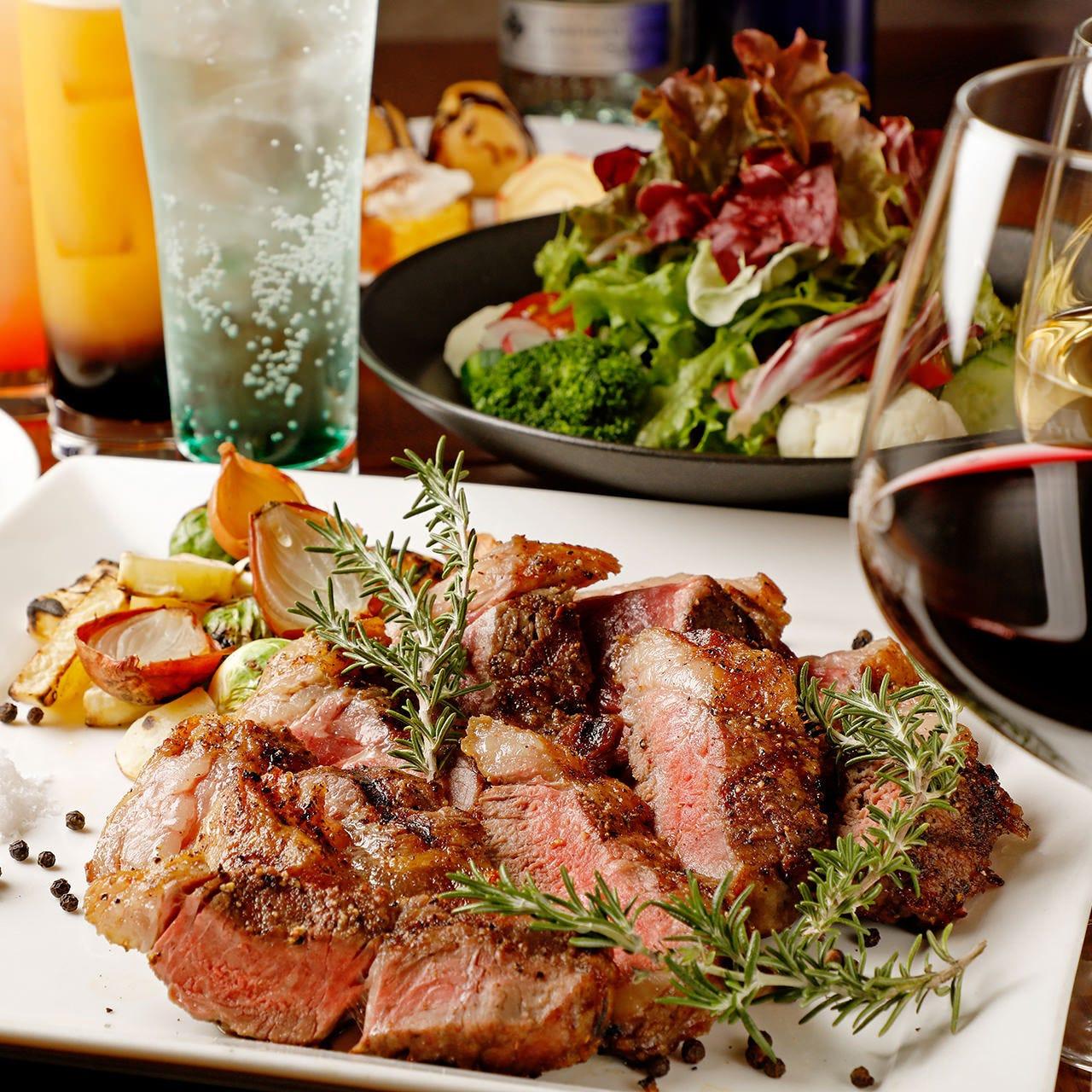 お肉やお魚、パスタなど本格イタリアンを味わえる宴会コース